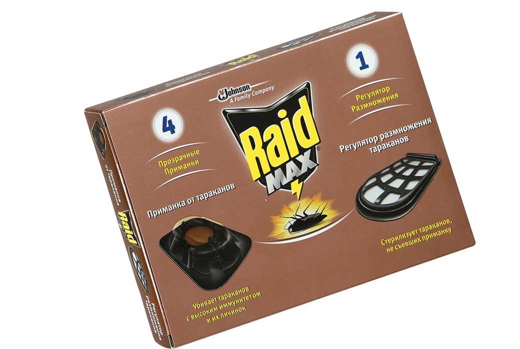 Аэрозоль рейд от тараканов: описание средства, инструкция по применению и отзывы