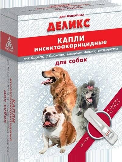 «дана спот-он» для собак: инструкция по применению