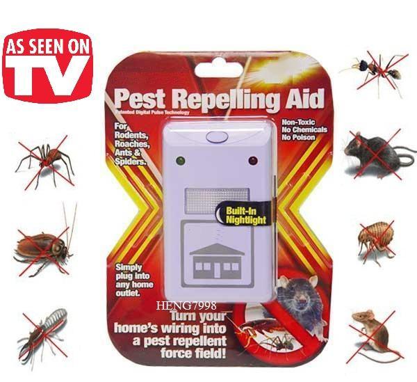 Помогает ли отпугиватель «пест репеллер» от тараканов?
