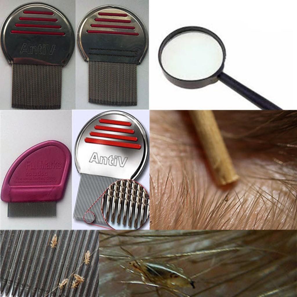 Как вычесать вшей и гнид с волос при помощи гребня?