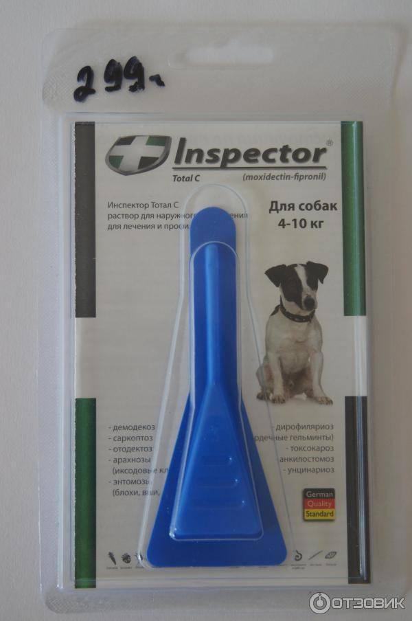 Инспектор капли для собак