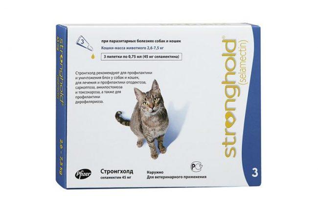 Отодектин для кошек поможет от глистов и блох