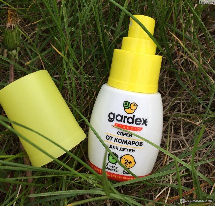 Гардекс от комаров: применение и отзывы о препарате