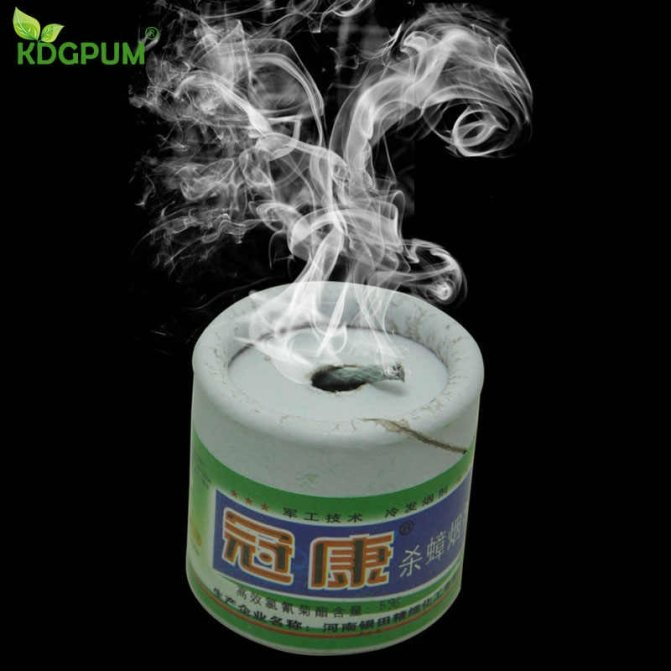 Дымовая шашка от ос – дешево и эффективно