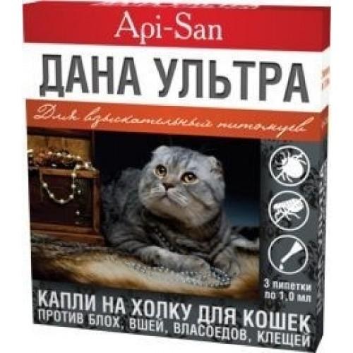 Дана ультра капли для кошек: инструкция по применению
