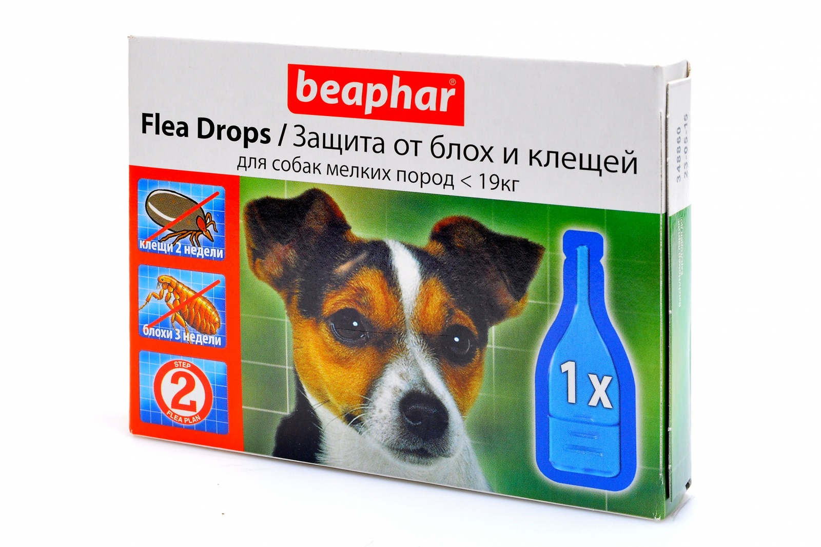 Капли для собак от блох и клещей