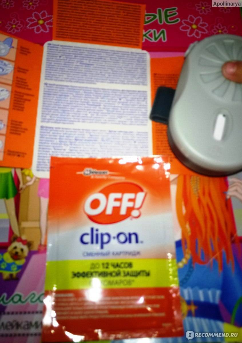 Off clip-on. инструкция по применению. и тест на себе.