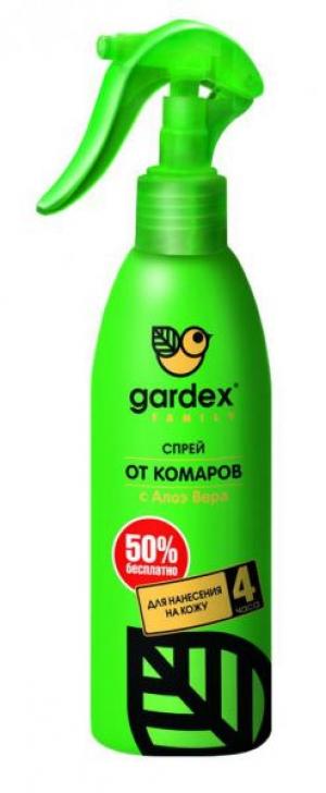 Купить гардекс naturin, 150 мл аэрозоль от комаров, клещей и мошки
