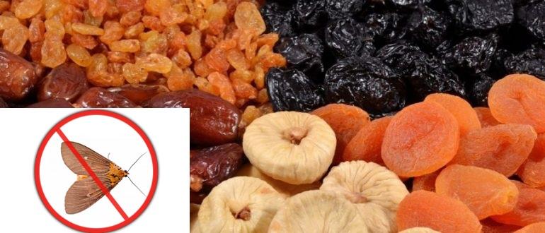 Как хранить сушеные фрукты?