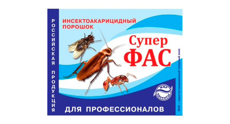 Супер фас от тараканов: инструкция по применению