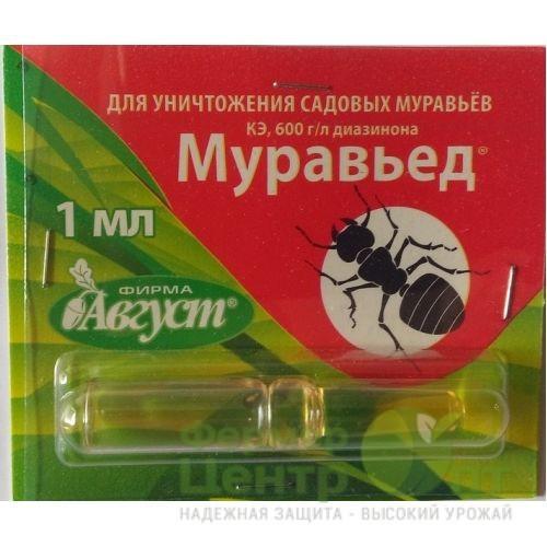 Муравьед: инструкция по применению и отзывы о инсектициде