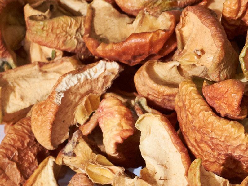 Как хранить сушки яблок, груш, абрикоса, чтобы не завелась моль?