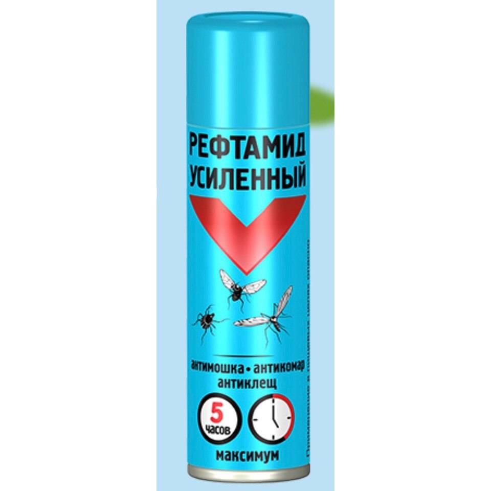 Рефтамид от клещей, блох, комаров и других насекомых (антиклещ, максимум, усиленный) - инструкция по применению и отзывы