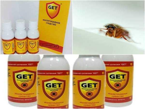 Гет от тараканов – состав и особенности использования