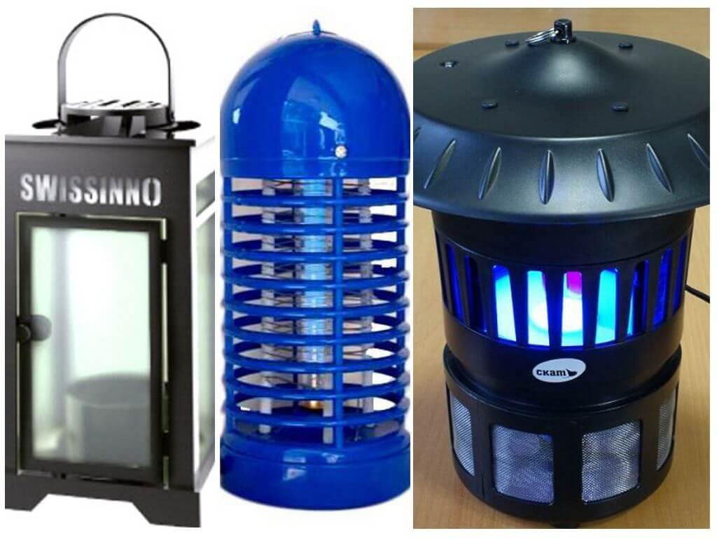 Лампы от комаров для улицы и помещений: виды, как выбрать подходящую, отзывы, правила использования, как сделать своими руками