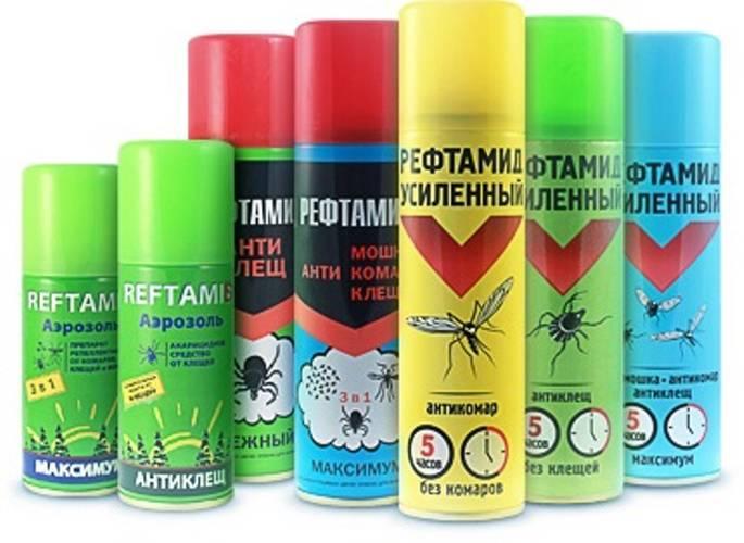 Рефтамид максимум аэрозоль от мошки, комаров, клещей, 147 мл