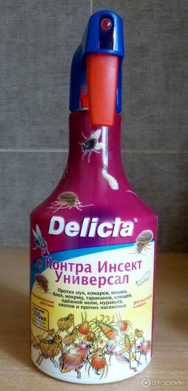 Delicia от тараканов: описание линейки средств, инструкция по применению