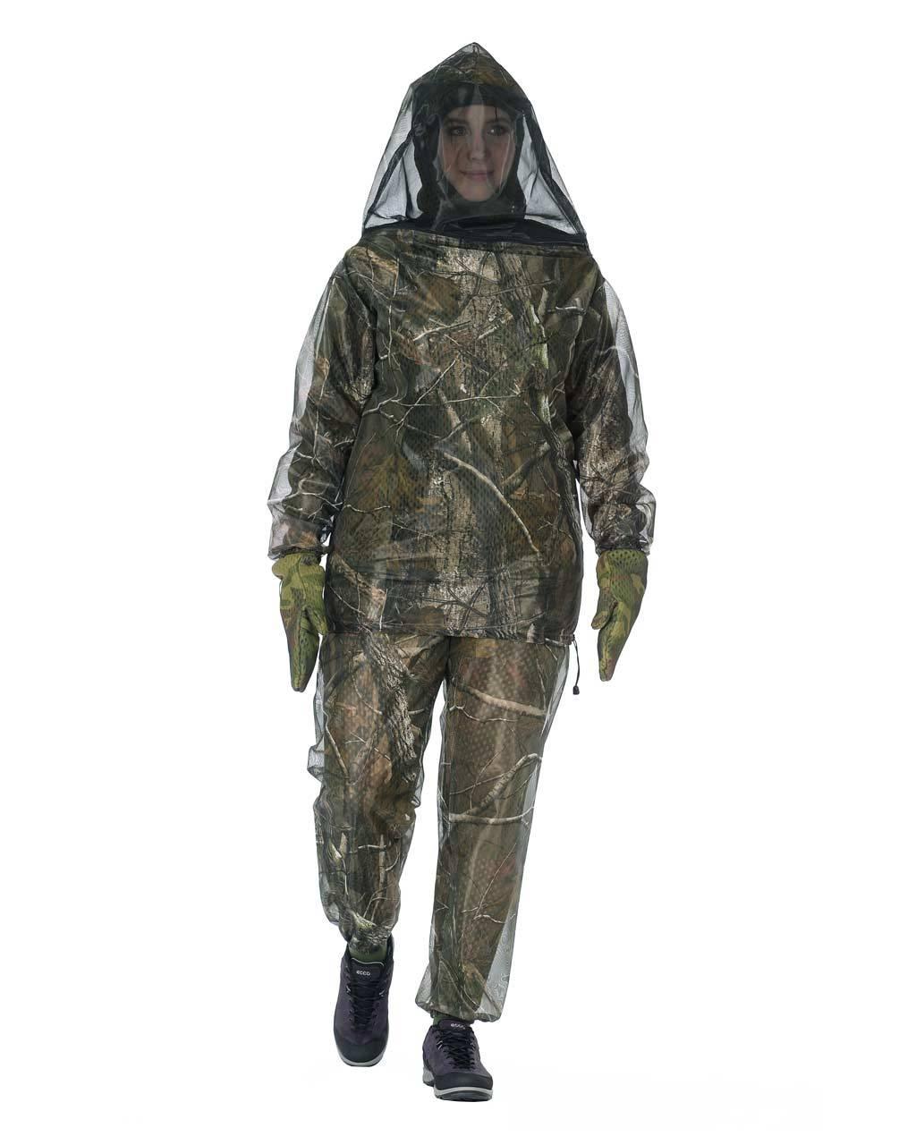 Одежда от комаров, клещей и мошек