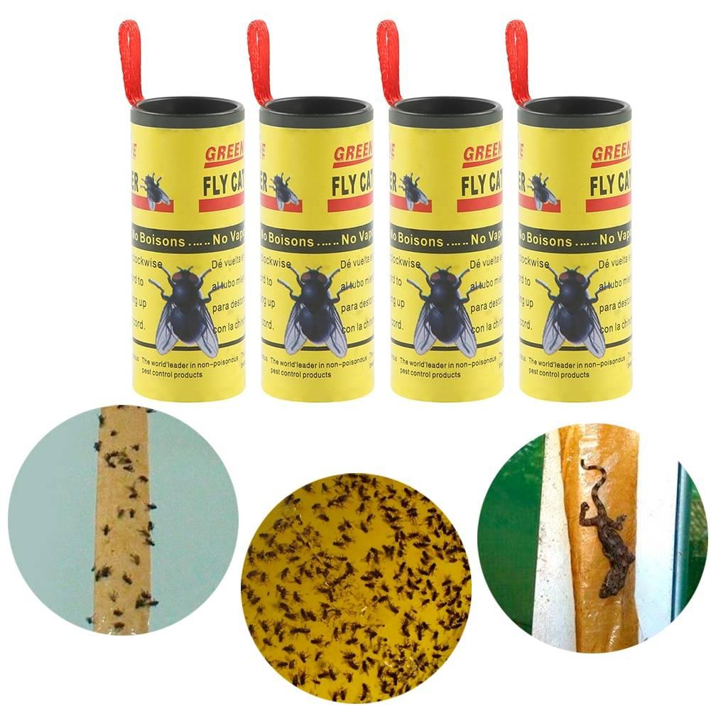 Липкая лента от мух: описание, инструкция, цены