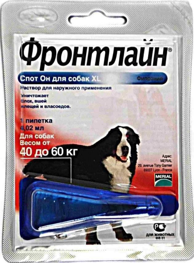 Фронтлайн для собак - эффективное средство против клещей