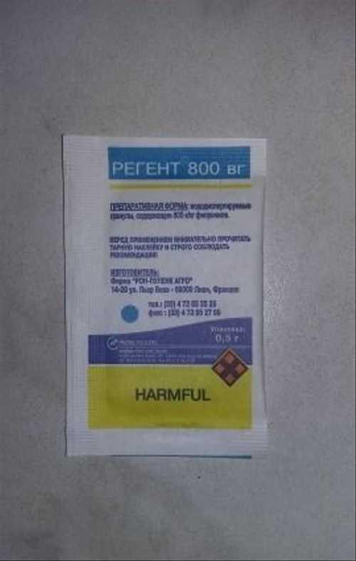 Инструкция по применению средства регент против тараканов с отзывами