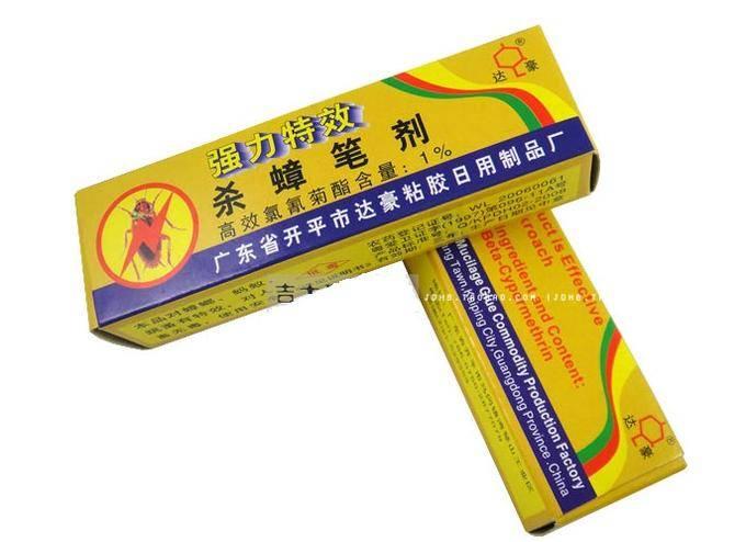Карандаш от тараканов (мелок): эффективен ли китайский, как действует