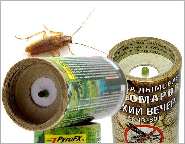 Дымовые шашки от тараканов: обзор и отзывы
