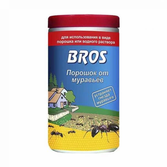 Порошок bros от муравьев - отзывы и инструкция по применению