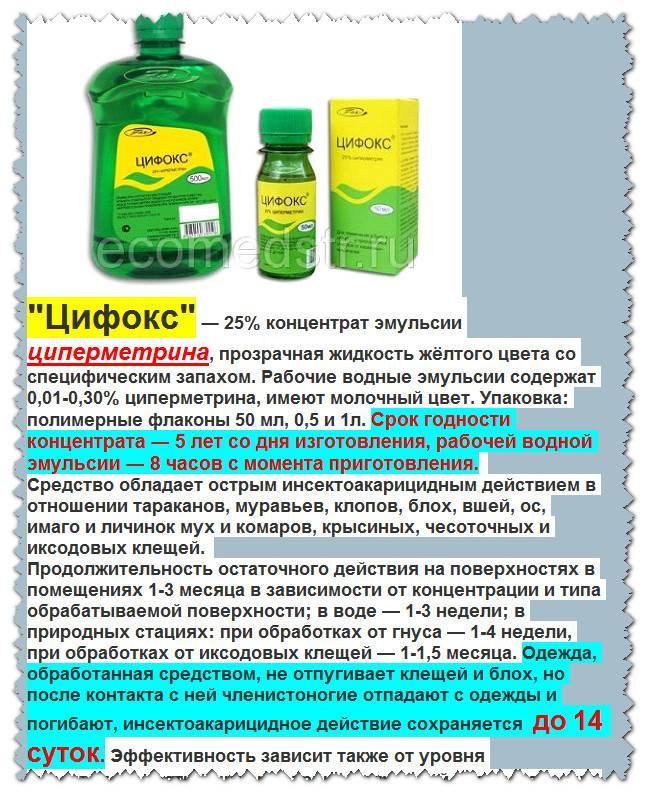 Цифокс инструкция по применению и как разводить препарат, состав и форма выпуска