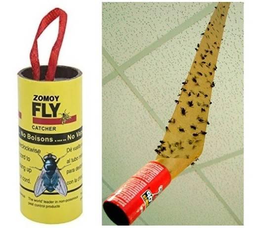 Как самостоятельно сделать липучку для мух