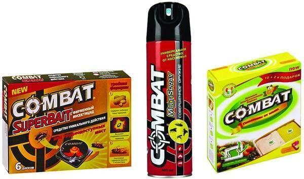 Средство комбат от тараканов: ловушки, гель, аэрозоль (отзывы)