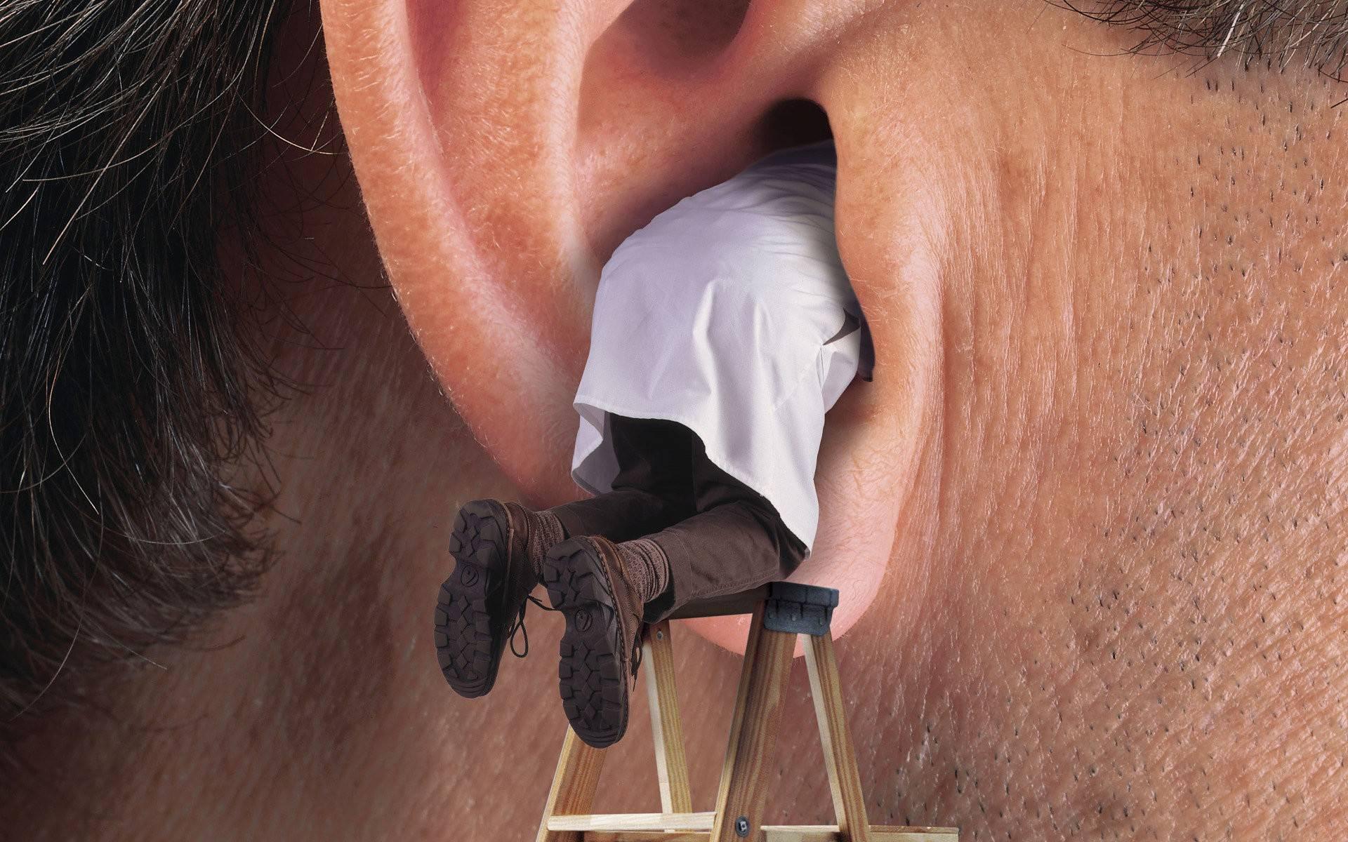 Как вытащить комара из уха