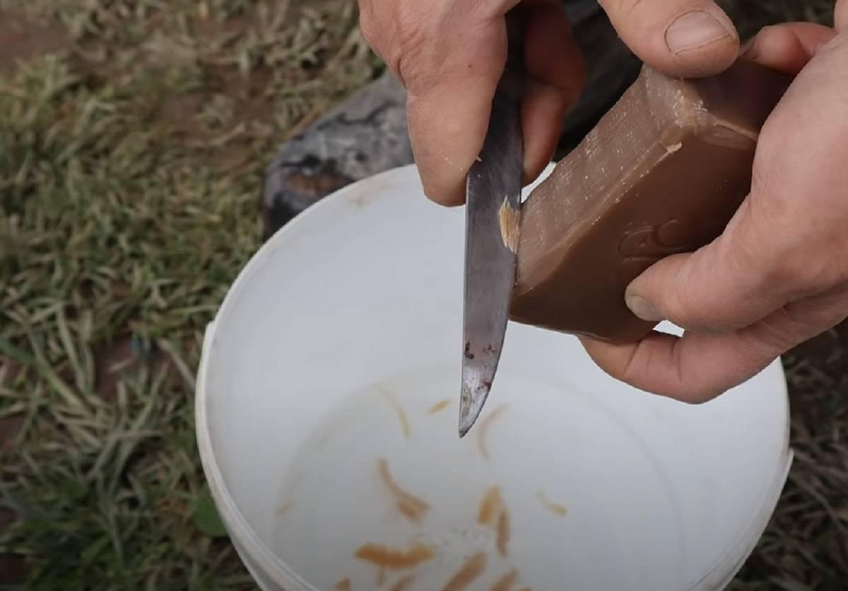 Дегтярное мыло от тли: рецепты растворов, инструкция