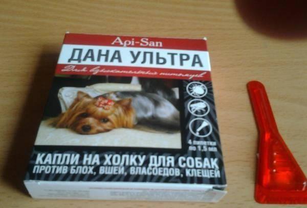 Дана спот он (капли) для собак и кошек | отзывы о применении препаратов для животных от ветеринаров и заводчиков