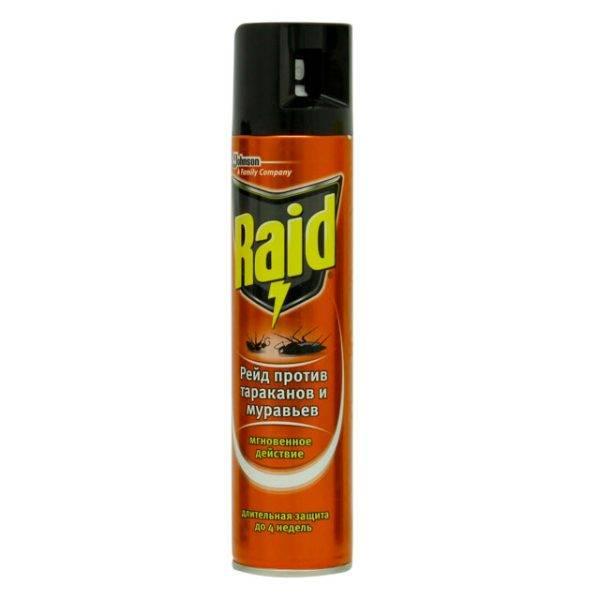 Инструкция по применению аэрозоля raid против летающих и ползающих насекомых