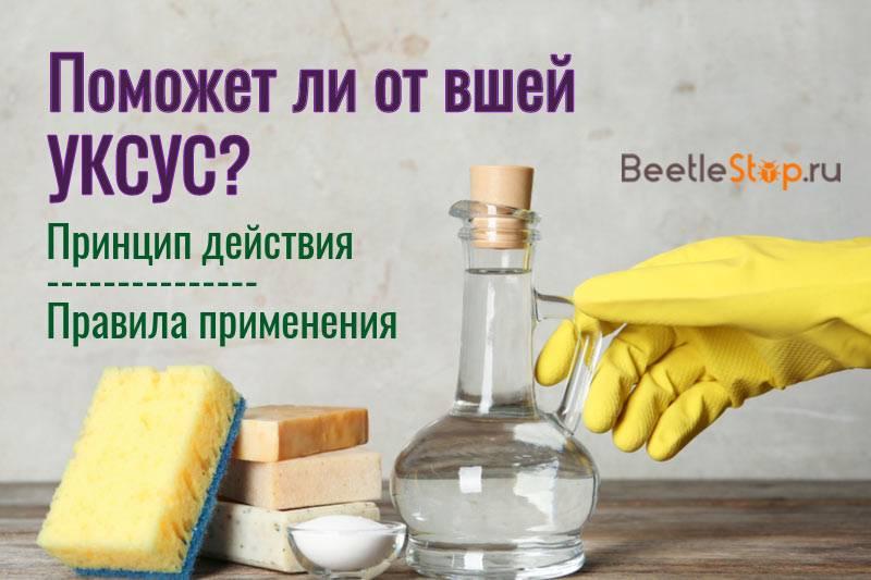 Эффективные рецепты с уксусом от вшей и гнид
