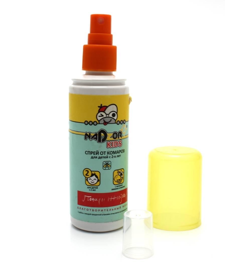Средства от комаров и мошек для детей до 1 года