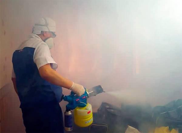 Уничтожение тараканов холодным или горячим туманом: отзывы, видео, принцип действия