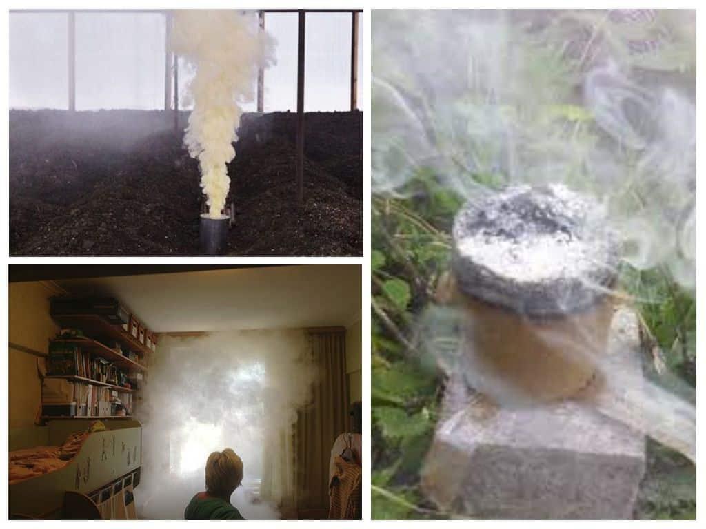 Применение дымовой шашки от клопов