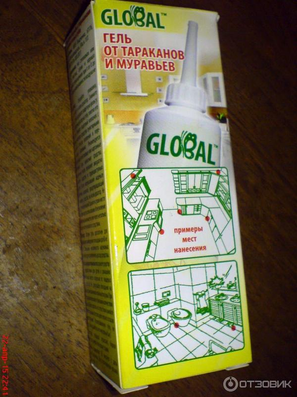 Глобал - средство от тараканов. отзывы, цена