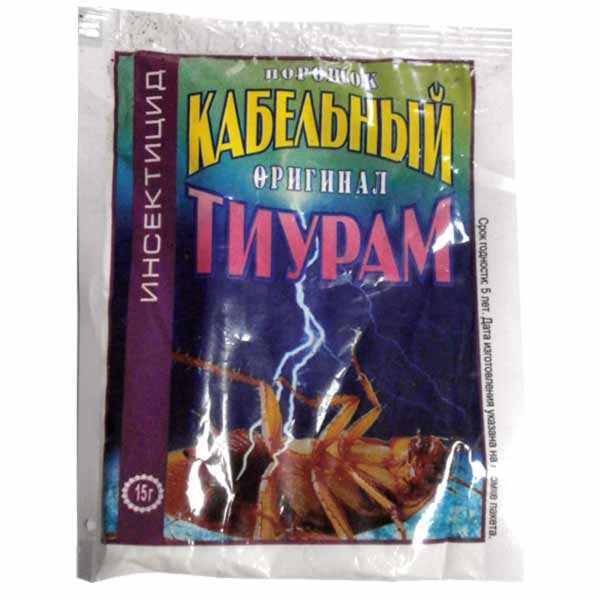 Порошок от тараканов тиурам