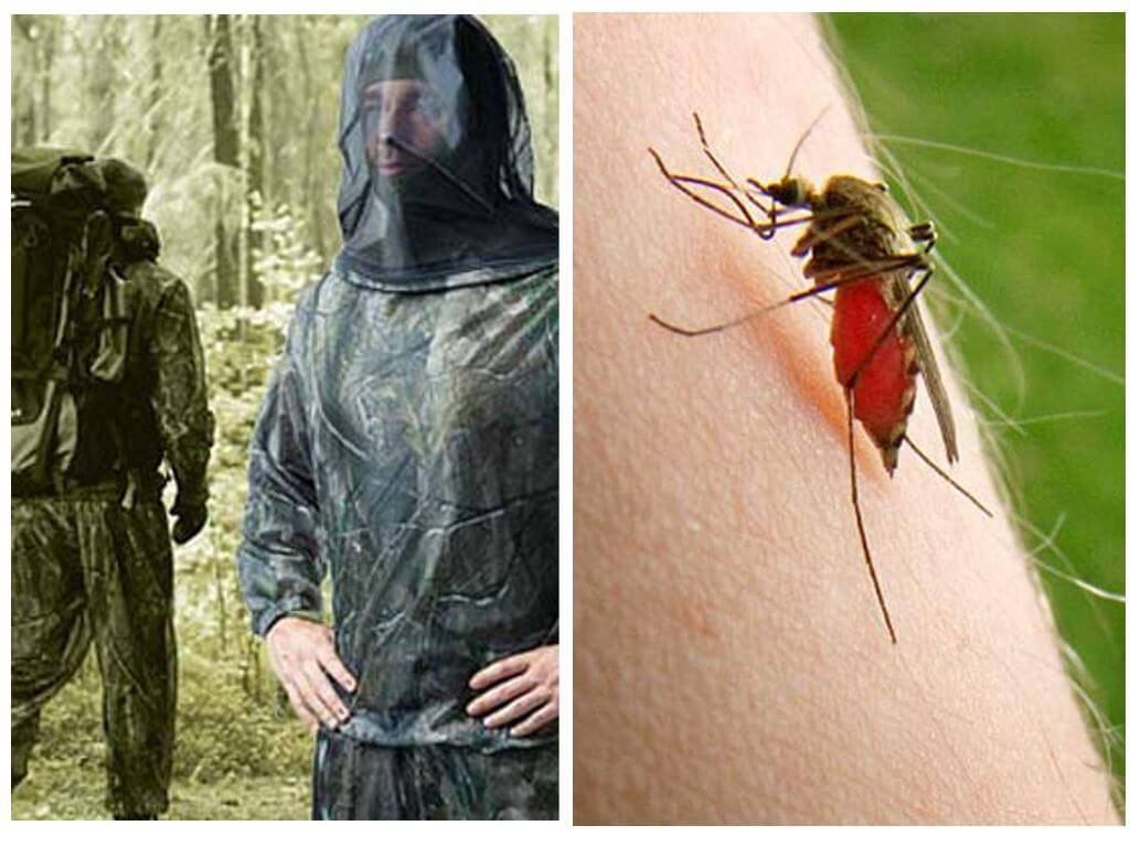 Одежда от комаров, клещей и мошки — обзор