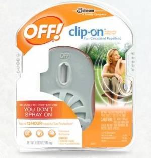 Лучшее средство от комаров off clip-on: отзывы