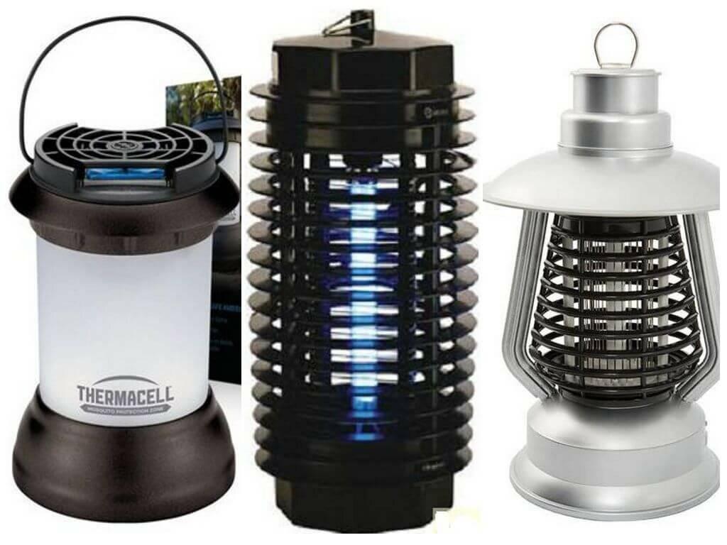 Домашние и уличные лампы от комаров