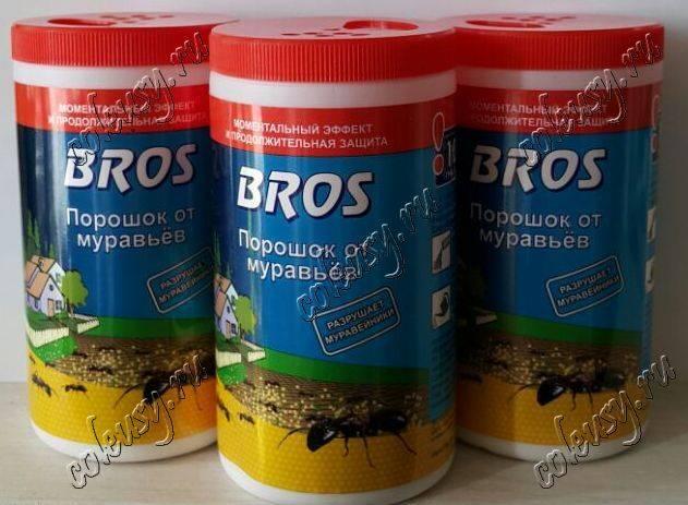 Купить bros (брос), 250 г порошок от муравьев