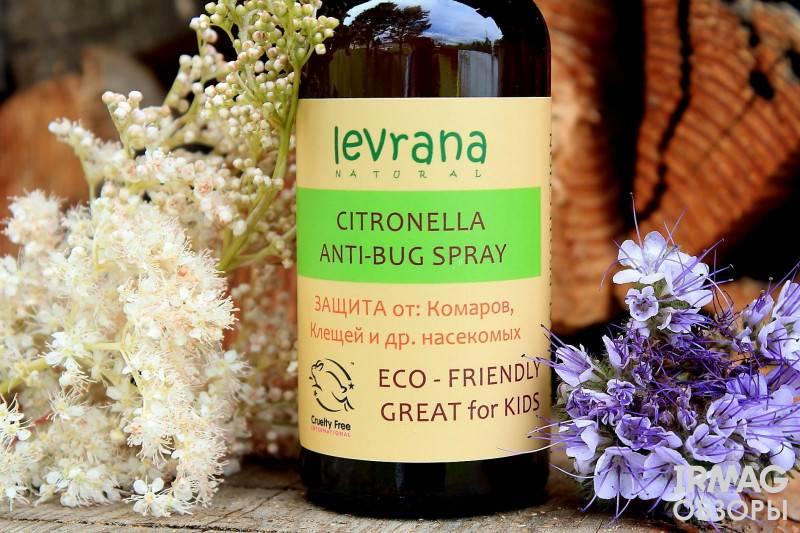 Эфирное масло цитронеллы от комаров – отзывы и способы применения