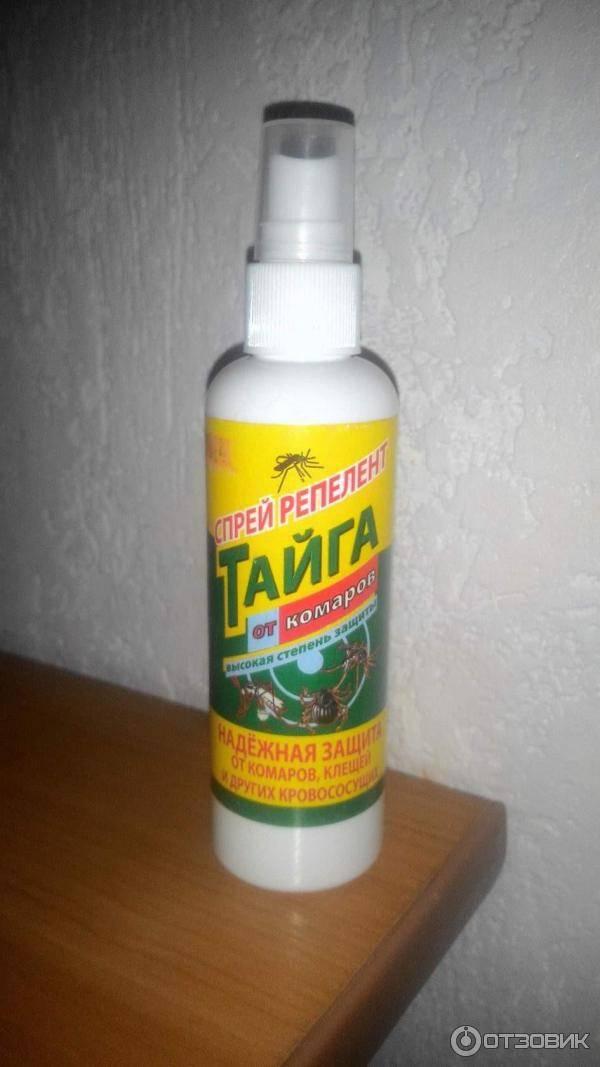 Средства от комаров тайга – обзор и отзывы