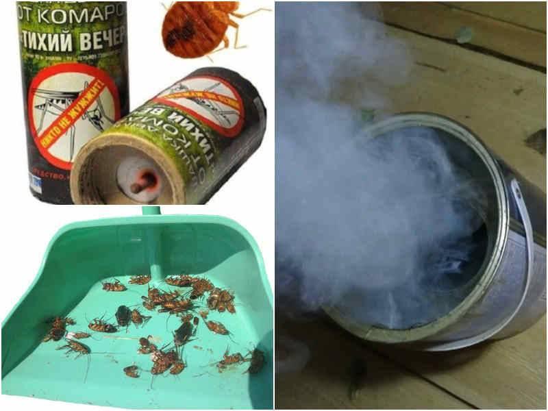 Дымовые шашки от комаров и прочих насекомых, принцип действия, отзывы людей