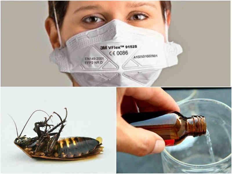 Нашатырный спирт от тараканов: описание, рецепт как приготовить, видео, отзывы