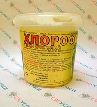 Хлорофос от клопов: инструкция, где купить, эффективность
